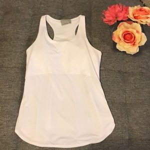 Athleta white tank